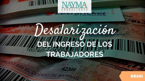 desalarizacion ingreso trabajadores venezuela nayma